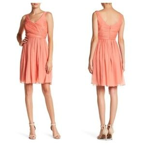 J crew  heidi dress in silk